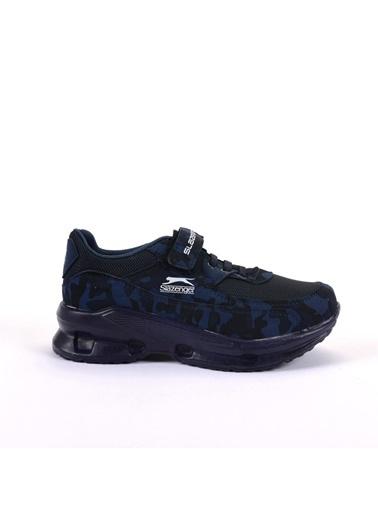 Slazenger Akura Erkek Çocuk Sneaker Ayakkabı Lacivert